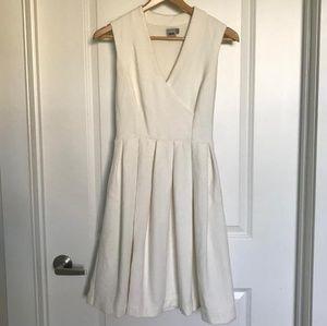 Asos ivory midi dress
